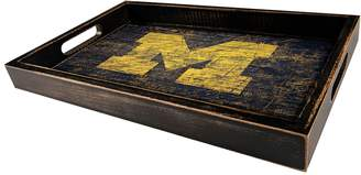 NCAA Kohl's Michigan Wolverines Distressed Serving Tray
