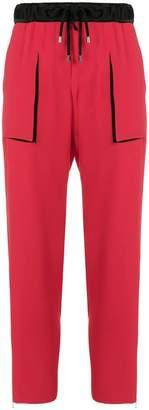 Giorgio Armani drawstring trousers