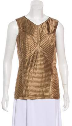Marc Cain Silk Sleeveless Top