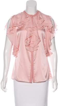Thomas Wylde Embellished Sleeveless Blouse