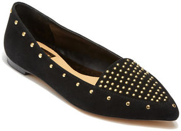 DV BY DOLCE VITA Leena Studded Suede Flats