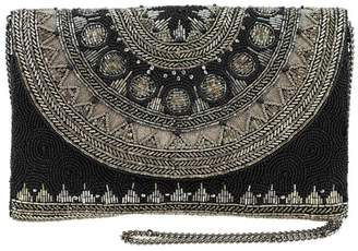 Mary Frances Beaded Envelope Clutch