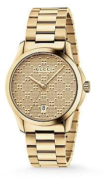 Gucci Men's G-Timeless Stainless Steel Bracelet Watch