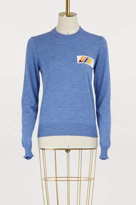 Stella Jean Maglia Girocollo virgin wool sweater
