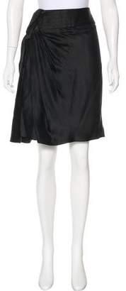 Viktor & Rolf Silk Knee-Length Skirt
