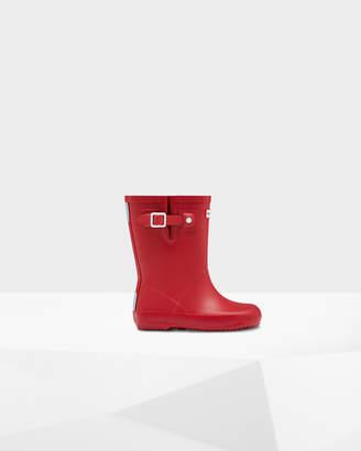 Hunter Little Kids Flat Sole Rain Boots