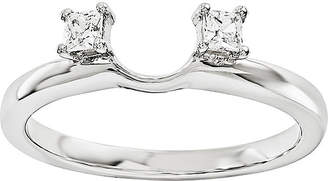 MODERN BRIDE Diamond Accent 14K White Gold Ring Wrap