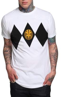 Power Rangers Animation Shops Mighty Morphin Ranger Costume T-Shirt