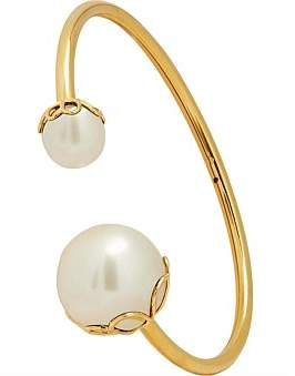 Kate Spade Large Pearl Wire Cuff