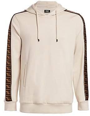 464dbd27 Men's FF Logo Sleeve Hoodie
