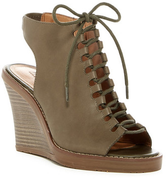 Kenneth Cole Reaction Knot 2 Night Lace-Up Wedge $89 thestylecure.com