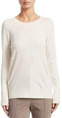 Akris Punto Wool Back Snap Button Sweater