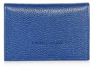 Longchamp Veau Foulonne Leather Bi-Fold Card Case