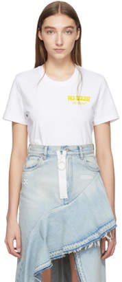 Off-White Off White White Crumbling Woman Casual T-Shirt