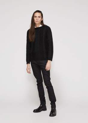 Saint Laurent Cable Sweater
