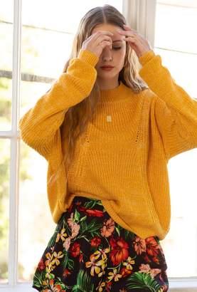Azalea Carina Brushed Knit Sweater