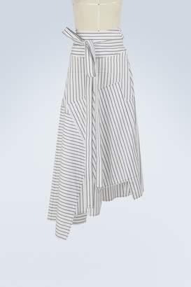 J.W.Anderson Patchwork midi skirt