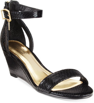 Thalia Sodi Areyana Two-Piece Wedge Sandals, Only at Macy's $59.50 thestylecure.com