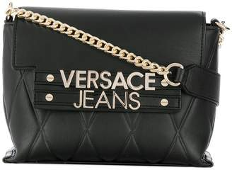Versace quilted crossbody