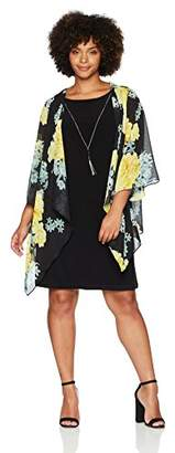 Tiana B Women's Plus Size 2pc Dress and Jacket