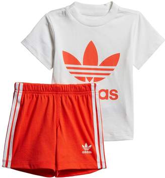 49091a89 adidas Red Matching Sets For Boys - ShopStyle UK