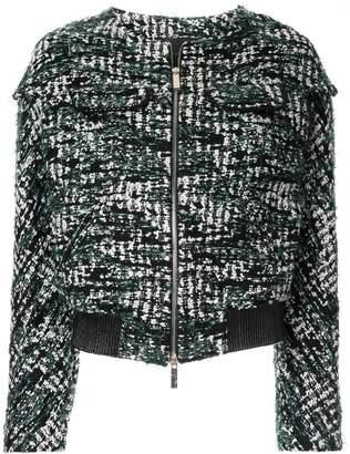 Anteprima tweed cropped jacket