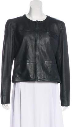 Chanel Lambskin Collarless Jacket