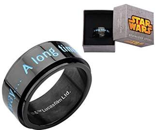 Star Wars Jewelry A Long Time Ago -Plated Men's Spinner Ring