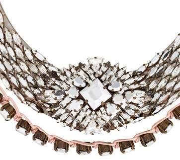 Shourouk Mini River Comet Necklace