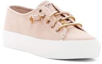 Sperry Sky Sail Metallic Twill Sneaker
