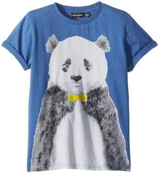 Rock Your Baby Panda Short Sleeve Tee Boy's T Shirt