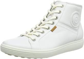 Ecco Shoes Women's Soft 7 High Top Sneaker