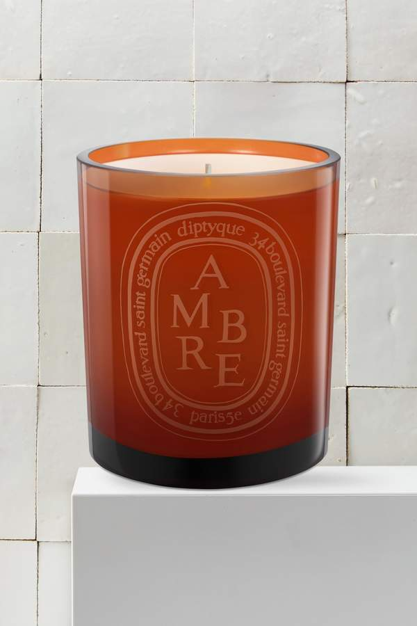 Colored candle 300g
