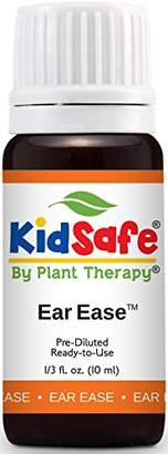Blend of America Plant Therapy KidSafe Ear Ease Essential Oil Synergy 10 ml (1/3 oz). Ready to Use! of Chamomile Roman