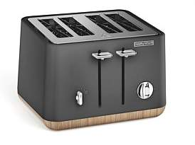 Morphy Richards Aspect Scandi 4 Slice Toaster Titanium