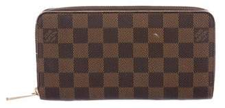 Louis Vuitton Damier Ebene Compact Zippy Wallet