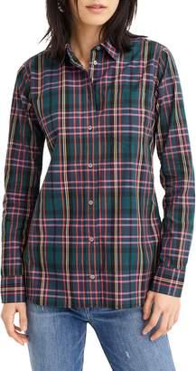 J.Crew Signature Tartan Perfect Slim Stretch Shirt