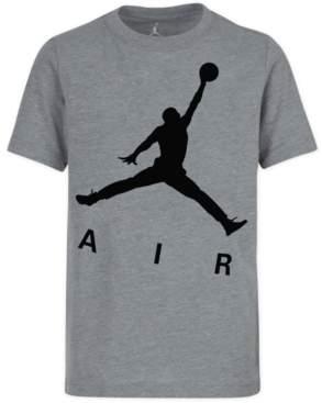 super popular d4ef0 c99cf Jordan Big Boys Jumpman-Print Cotton T-Shirt