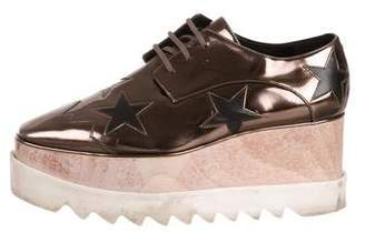 Stella McCartney Vegan Patent Leather Platform Sneakers