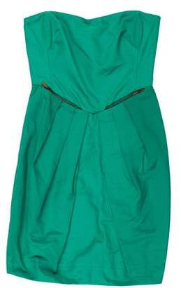 See by Chloe Strapless Mini Dress