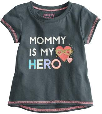 Baby Girl Jumping Beans Short-Sleeve Graphic Tee