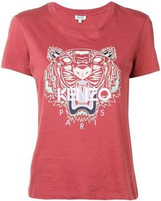 Kenzo tiger logo-printed T-shirt