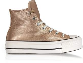 93c9b9c06ea4 at Forzieri · Converse Limited Edition Chuck Taylor All Star High Metallic  Sneakers