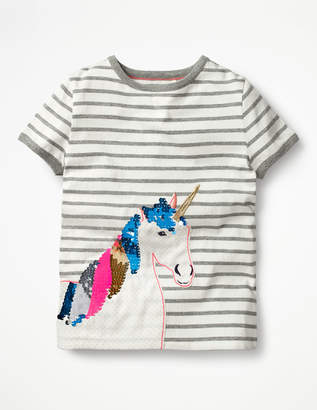 Boden Sequin Colour-change T-shirt