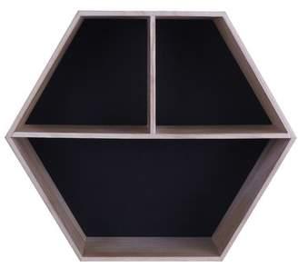 Foundry Select Beckett Modern Wooden Shelf Accent Mirror