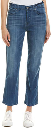 7 For All Mankind Seven 7 Edie Boyd High-Rise Straight Crop