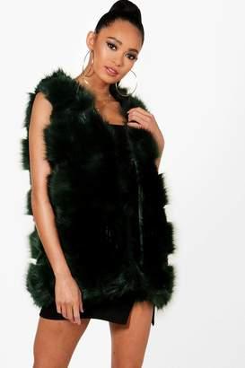 boohoo Annabelle Faux Fur Gilet