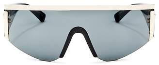 Versace Men's Shield Sunglasses, 142mm