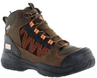Herman Survivors Professional Series Herman Survivor Professional Series Men's Scraper 6 Inch Work Boot, ASTM Rated Composite Toe, Slip Resistant, Brown and Black