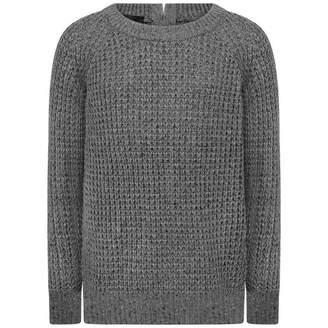 Little Remix Little RemixGirls Grey Kimmy Zip Sweater